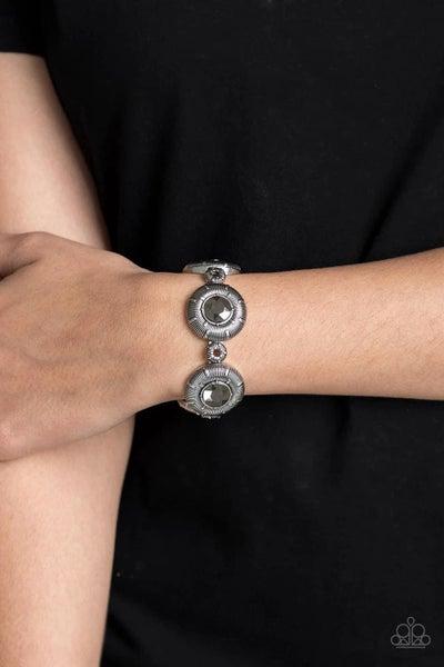 Original Opulence - Silver Stretchy Bracelet