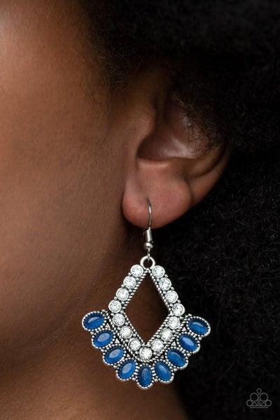 Just BEAM Happy - Blue Earrings