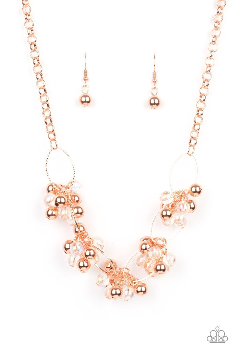 Effervescent Ensemble - Copper Necklace