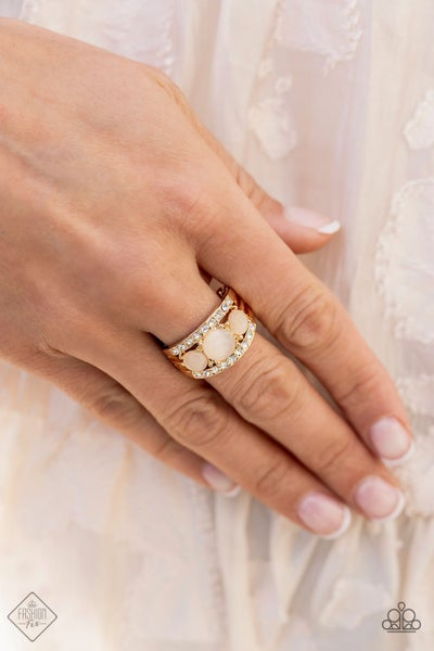 Majestically Mythic - Gold Ring - June 2021 Fashion Fix