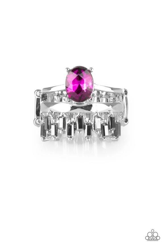 Crowned Victor - Pink Ring
