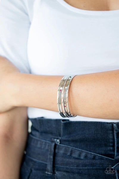 Be There With Baubles On - Multi Bangles