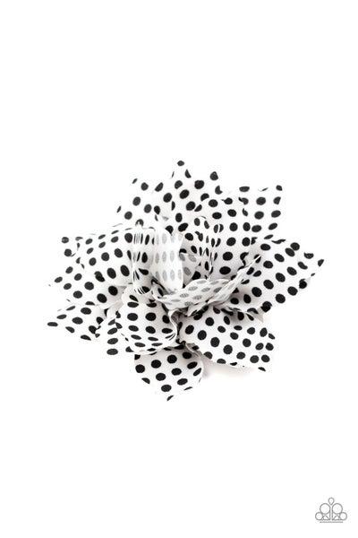 Springtime Social - White Hair Clip
