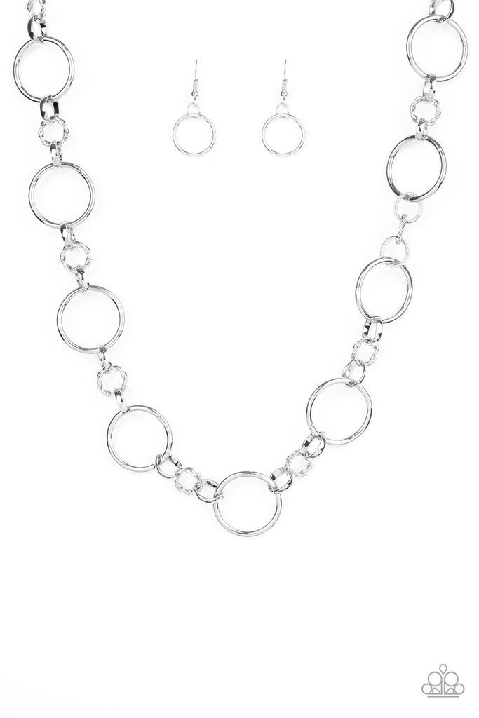 Classic Combo - Silver Necklace