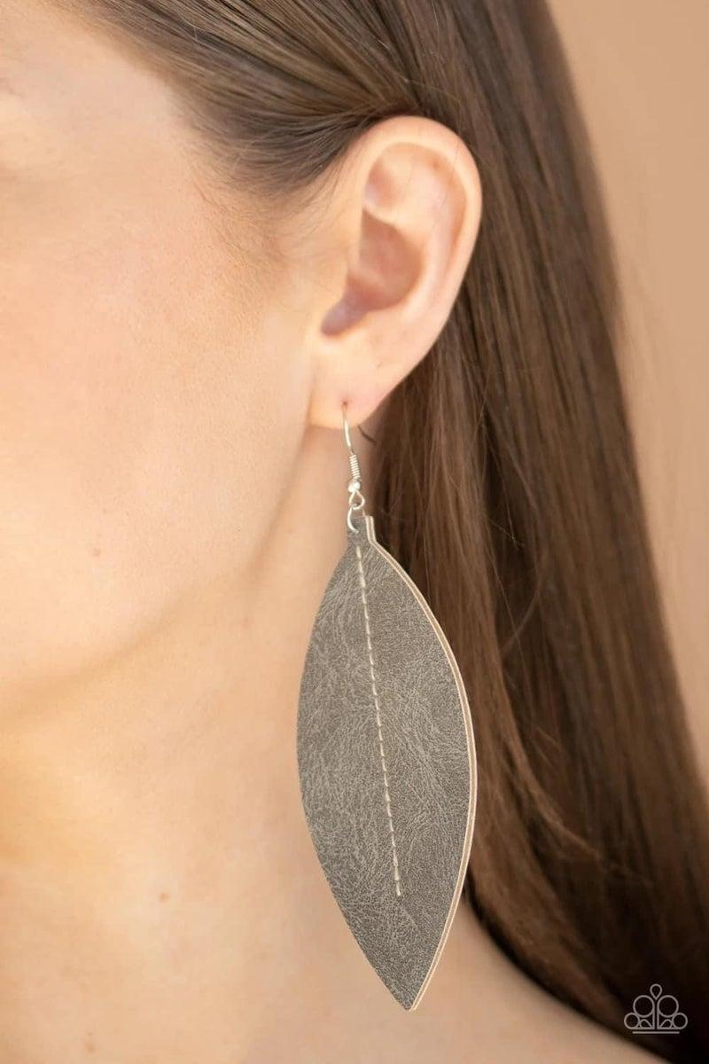Naturally Beautiful - Silver Earrings