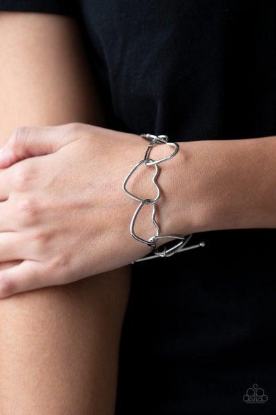 Take Heart - Silver Tiffany Bracelet
