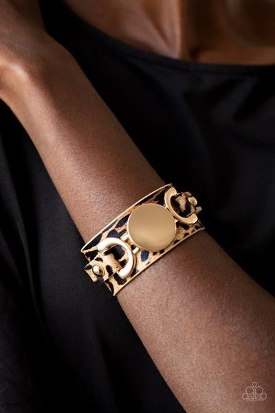 Your Claws are Showing - Gold Snap Wrap