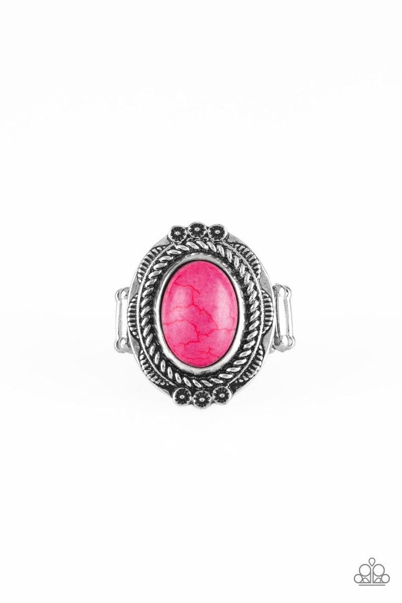Tumblin Tumbleweeds - Pink Ring