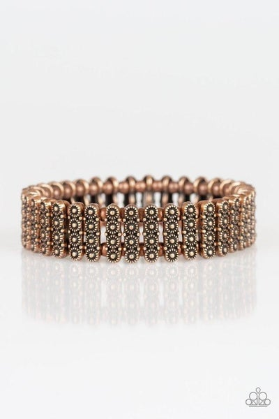 Rise With The Sun - Copper Stretchy Bracelet