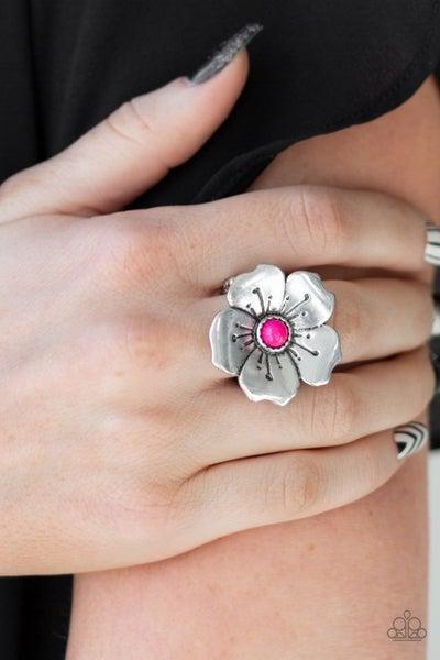 Boho Blossom - Pink Ring