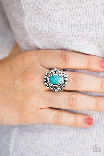 Dreamy Deserts - Blue Ring