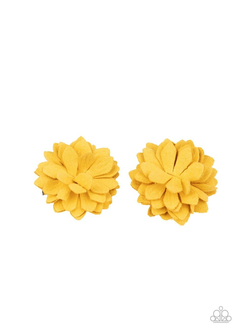 Summery Salutations - Yellow Hair Clip