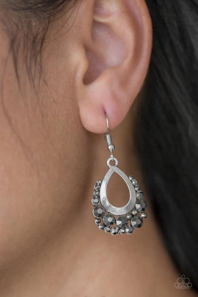 Table For Two - Silver Earrings