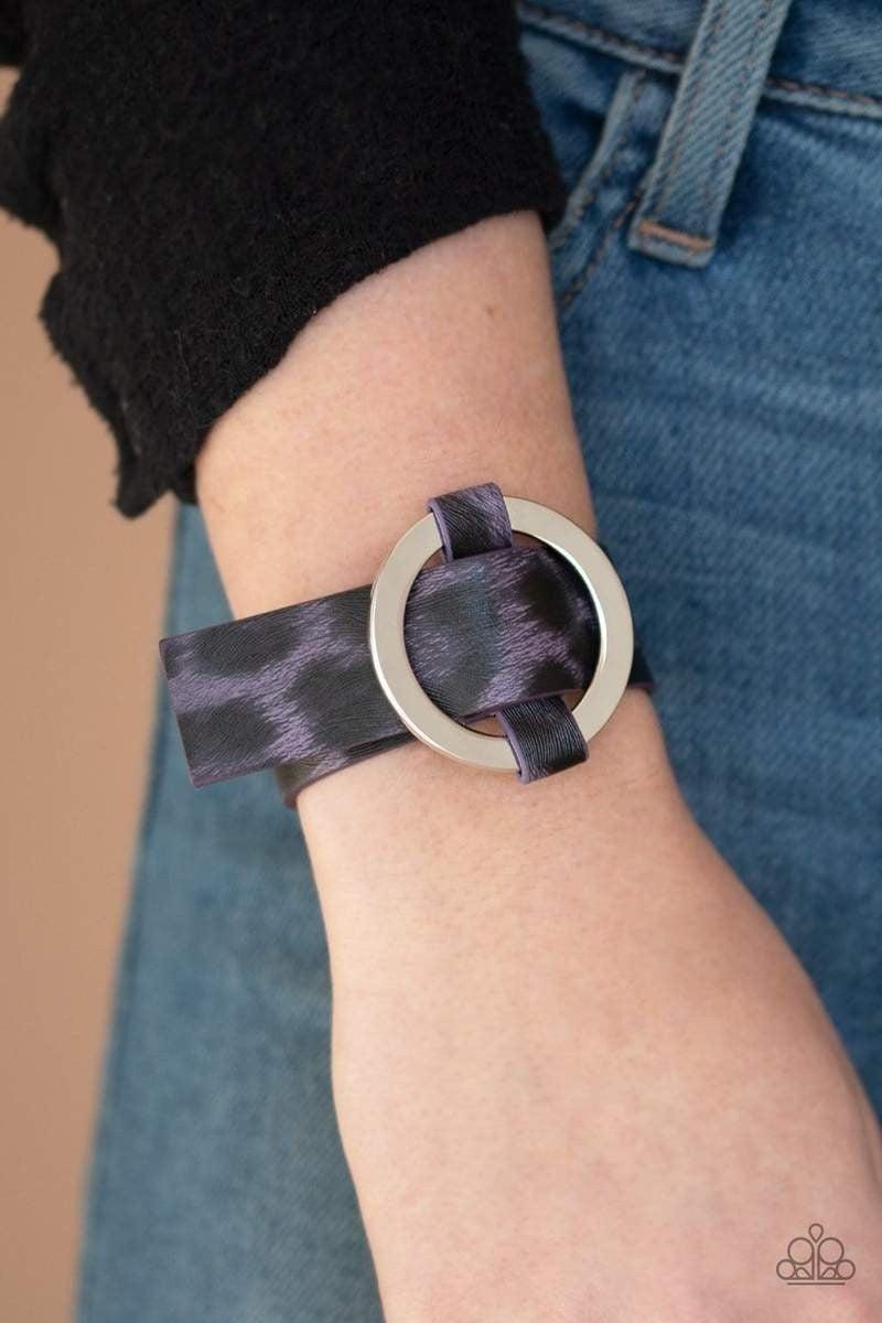 Jungle Cat Couture - Purple Snap Wrap