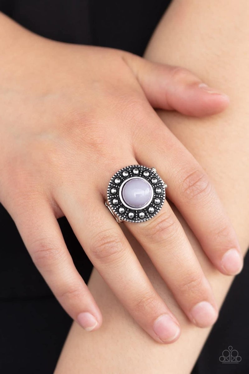 Treasure Chest Shimmer - Silver Ring