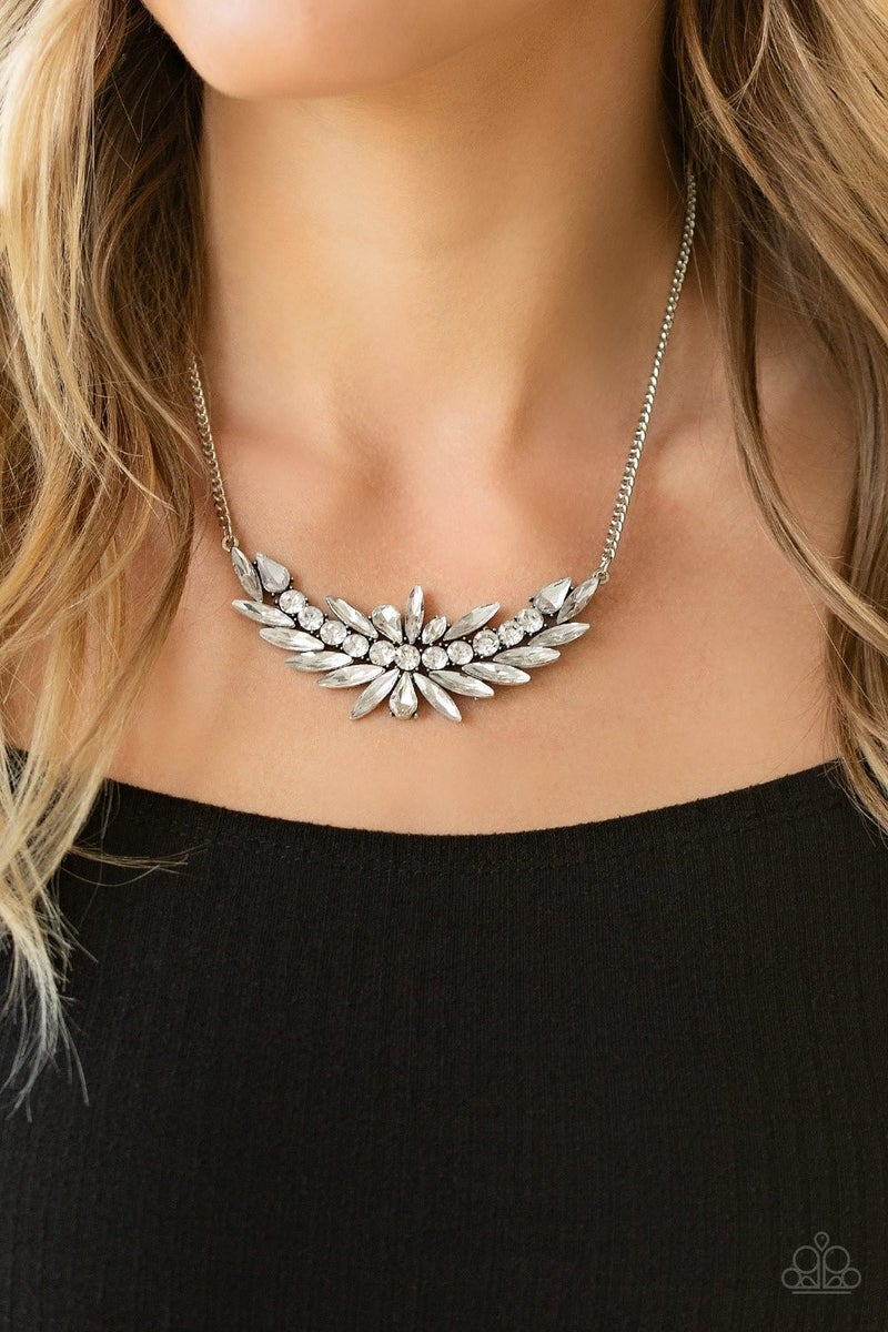 HEIRS and Graces - White Necklace