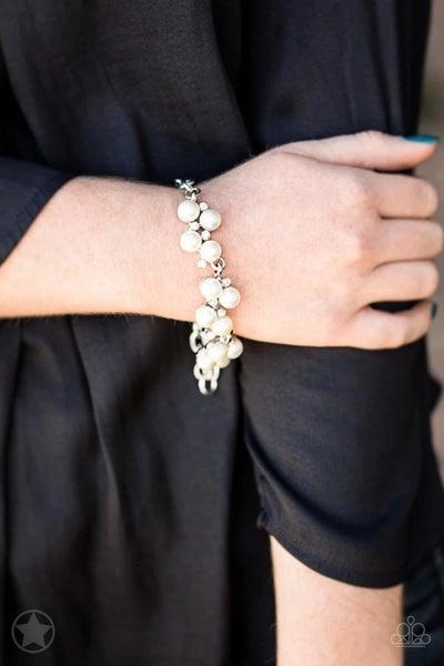 I Do - White Clasp Bracelet