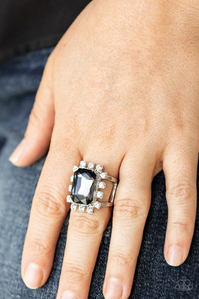 Galactic Glamour - Silver Ring
