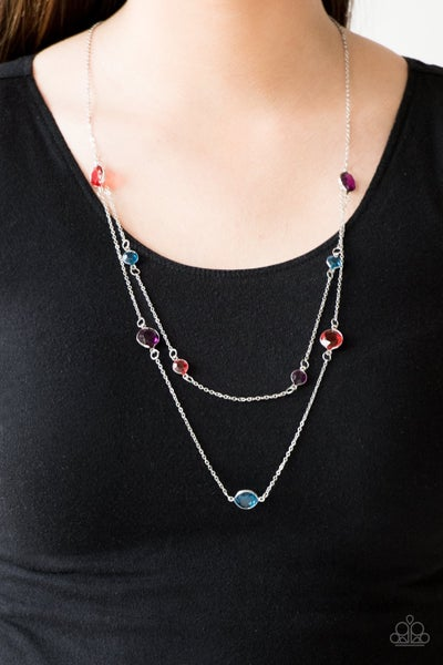 Raise Your Glass - Multi Necklace