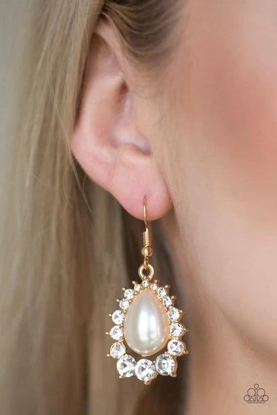 Regal Renewal - Gold Earrings