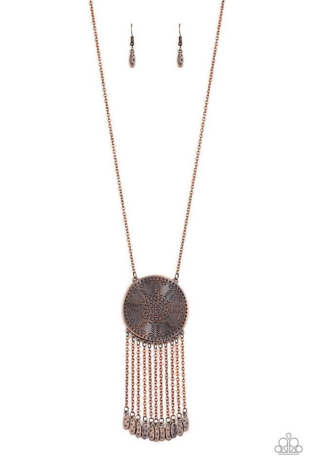 Natures Melody - Copper Necklace