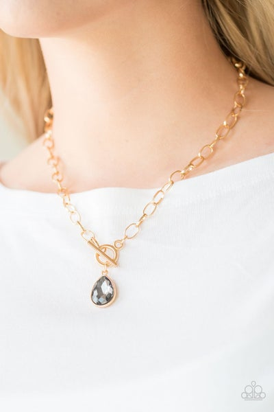 So Sorority - Gold Necklace