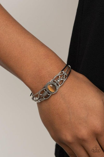 Wait and SEER - Brown Cuff