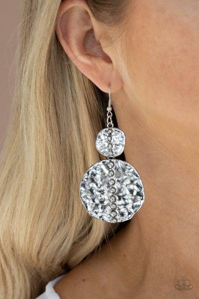 Metro Metalhead - Silver Earrings