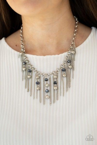 Ever Rebellious - Blue Necklace