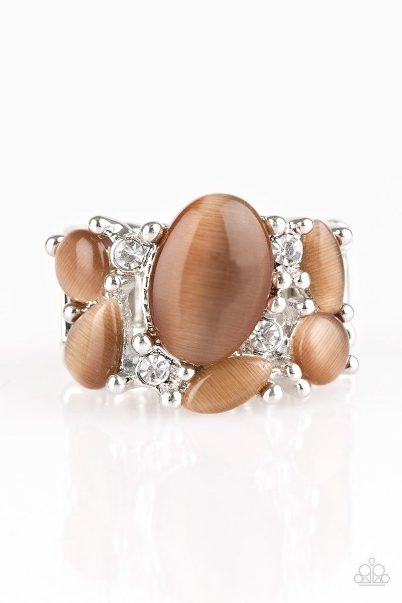 Modern Moonwalk - Brown Ring