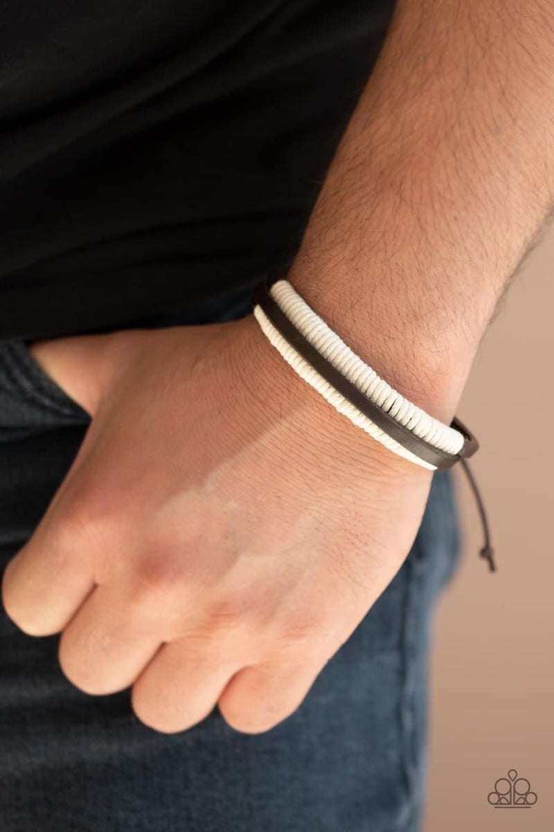 Rugged Roper - Brown Urban Bracelet