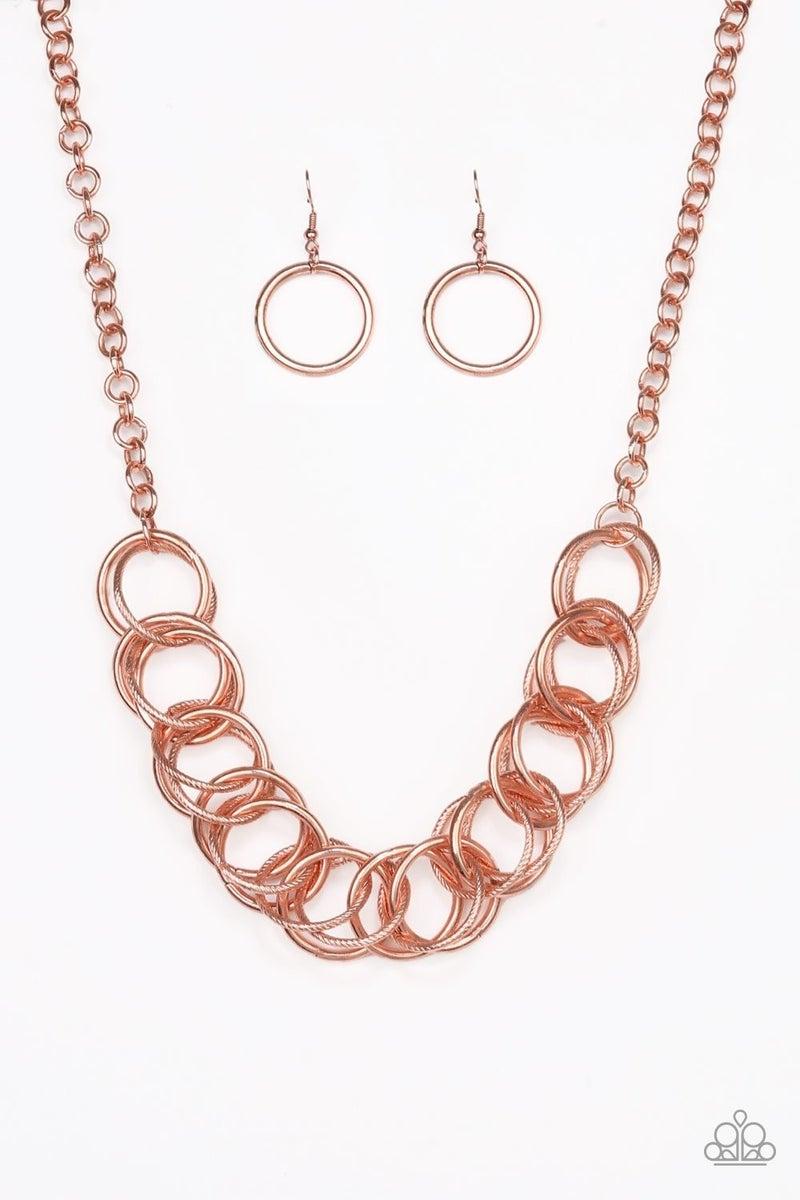 Heavy Metal Hero - Copper Necklace