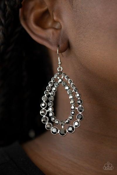 Glacial Glaze - Silver Earrings