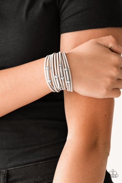 Back To BACKPACKER - Silver Clasp Bracelet