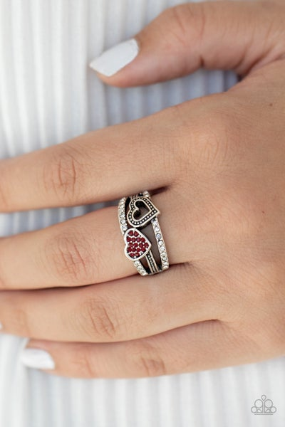 You Make My Heart BLING - Red Ring