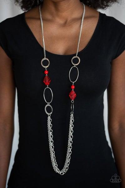 Jewel Jubilee - Red Necklace