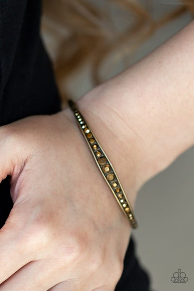 Just SPARKLE and Wave - Brass Bangles