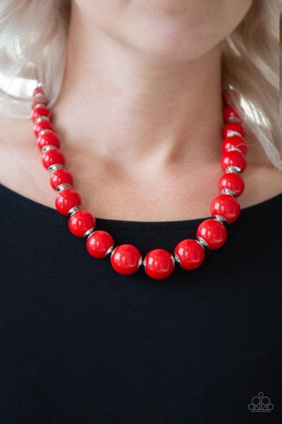 Everyday Eye Candy - Red Necklace
