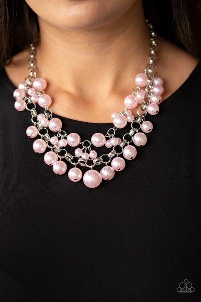 BALLROOM Service - Pink Necklace