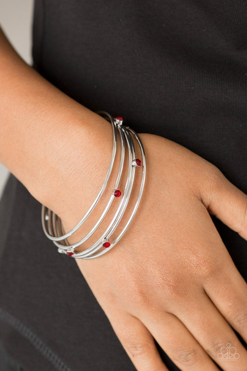 Delicate Decadence - Red Bangles