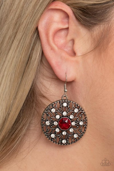 GLOW Your True Colors - Red Earrings