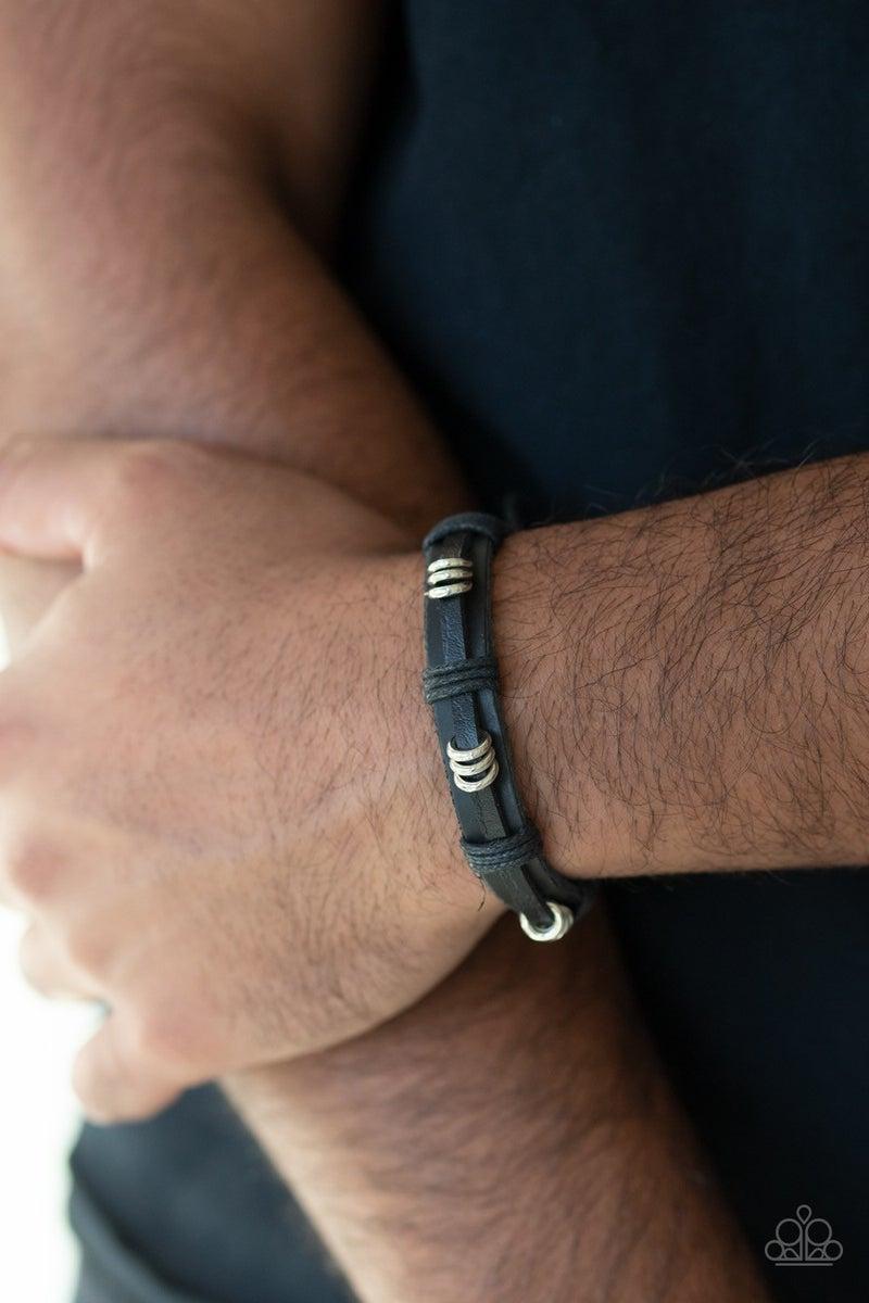 Rodeo Ringleader - Black Urban Bracelet