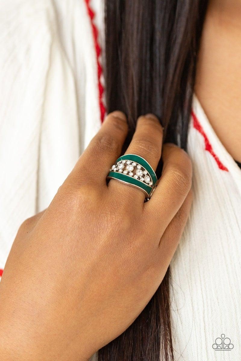Trending Treasure - Green Ring