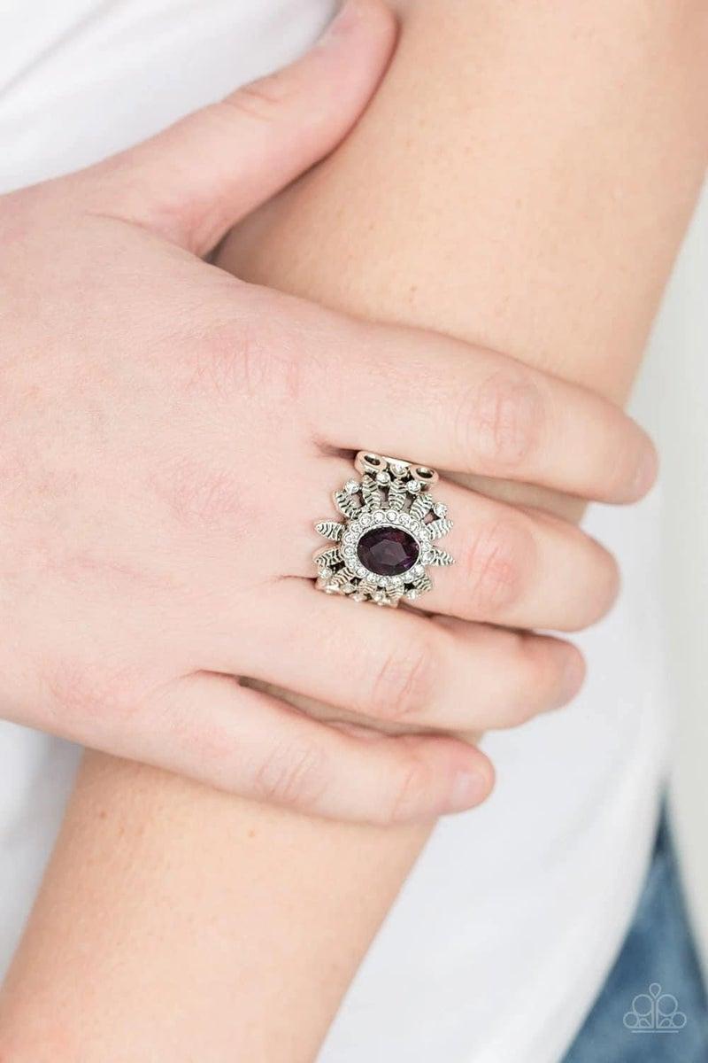 Burn Bright - Purple Ring