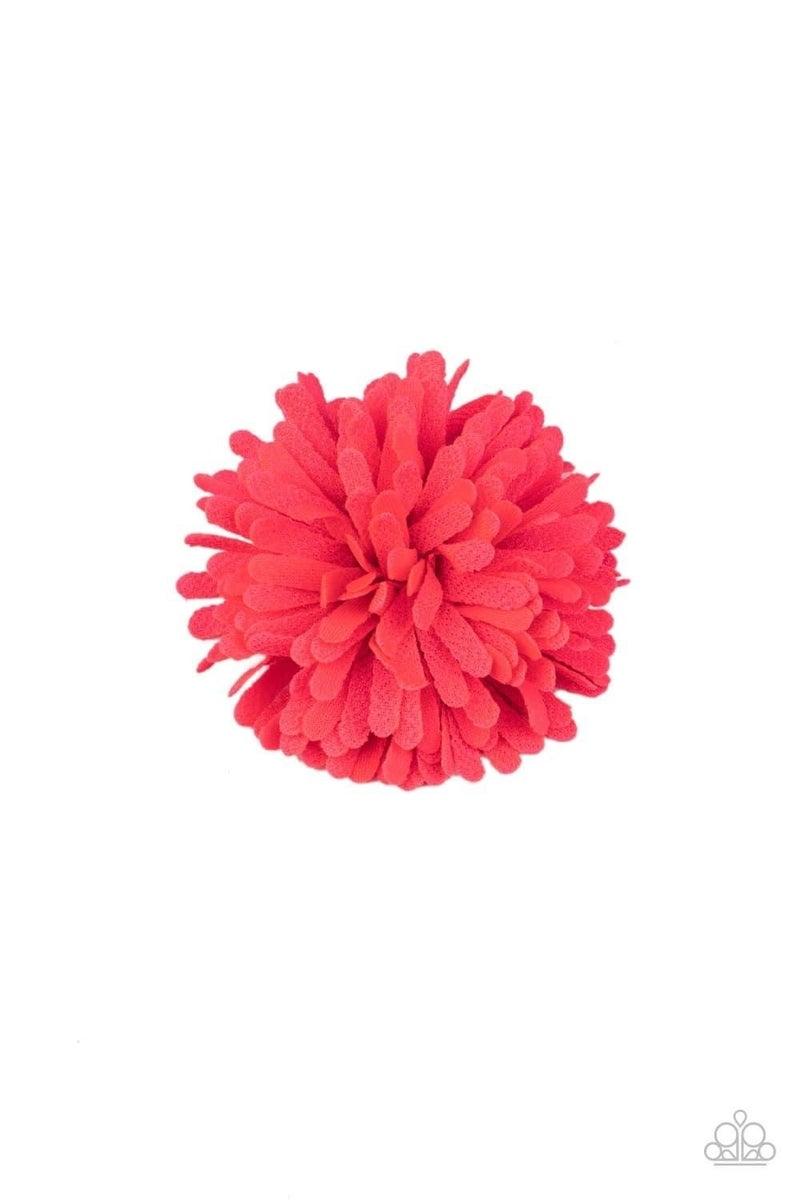 Neon Garden - Pink Hair Clip