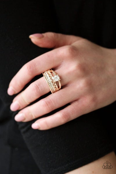 The Overachiever - Rose Gold Ring