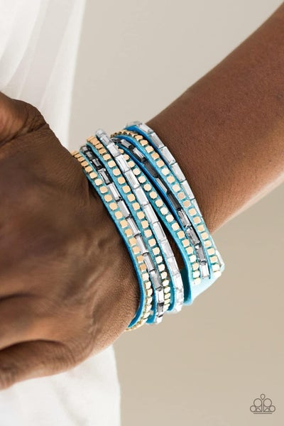 This Time With Attitude - Blue Snap Wrap