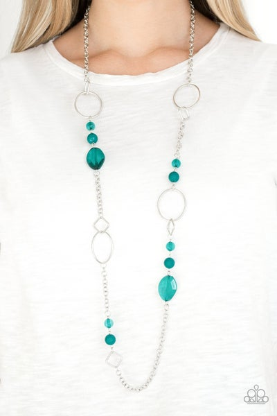 Very Visionary - Green Necklace