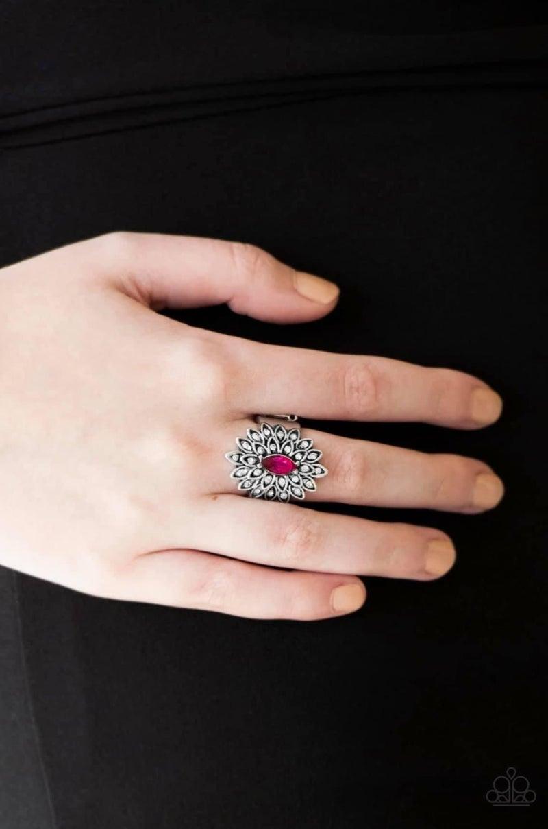 Blooming Fireworks - Pink Ring