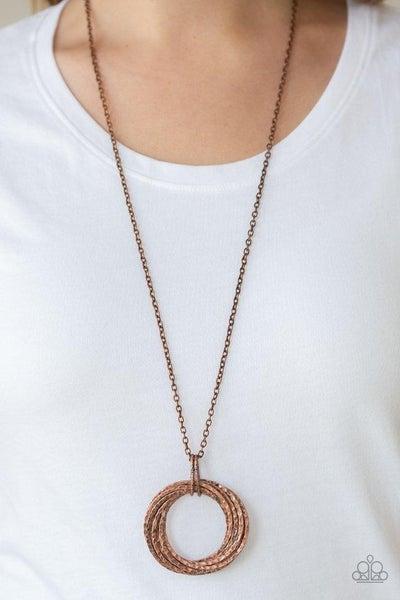 Metal Marathon - Copper Necklace